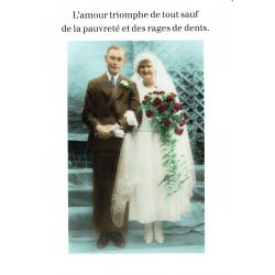 Carte Cath Tate - L'amour triomphe de tout... - 10.5x15 cm