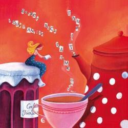 Carte Marie Cardouat - Le thé -
