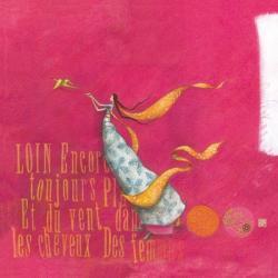 Carte Gaëlle Boissonnard - La fille et l'envol de l'oiseau - 14x14 cm