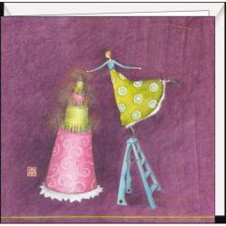Carte Gaëlle Boissonnard - Le grand gâteau - 16x16 cm