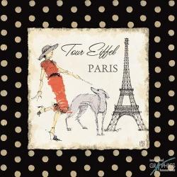 Carte Avery Tillmon - Ladies in Paris II - 14x14 cm