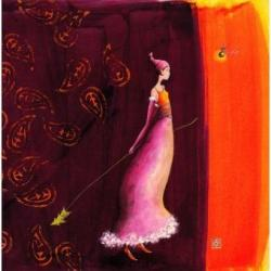 Carte Gaëlle Boissonnard Noël - Le petit sapin - 14x14 cm