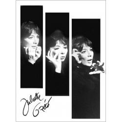 Juliette Gréco - Affiche 50x70 cm