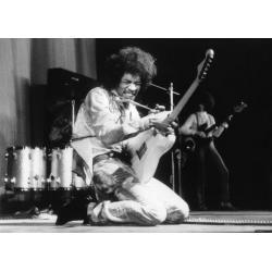 Jimmy Hendrix - Affiche 50x70 cm