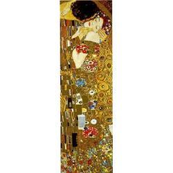 """Affiche Gustav Klimt """"The Kiss"""" 35x100 cm"""