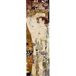 """Affiche Gustav Klimt """"Three Ages Of Women"""" 35x100"""