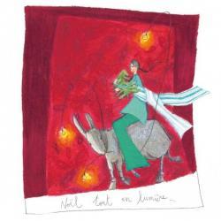 Carte Anne-Sophie Rutsaert - Noël tout en lumière... - 16x16 cm