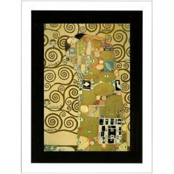 """Affiche Gustav Klimt """"Fullfillment"""" 60x80 cm"""