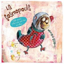 Carte Olivier Daumas - La cosmopoule - 14x14 cm