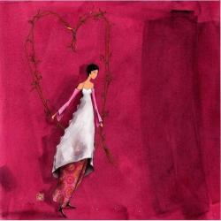 Carte Gaëlle Boissonnard - L'arche en coeur - 14x14 cm