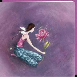 """Carte Gaëlle Boissonnard """"Des ailes"""" 16x16 cm"""