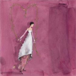 """Calendrier 2014 Gaëlle Boissonnard """"Offrir un coeur"""" 16x16 cm"""