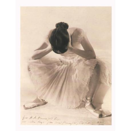 Blumenfeld NYC 1946 - Danseuse - Affiche 60x80 cm