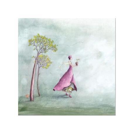 Carte Gaëlle Boissonnard - Il faut cultiver notre jardin - 14x14 cm