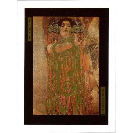 """Affiche Gustav Klimt """"Higieia"""" 60x80 cm"""
