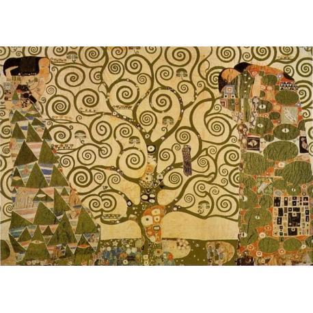 """Affiche Gustav Klimt """"L'arbre de vie"""" 70x100 cm"""