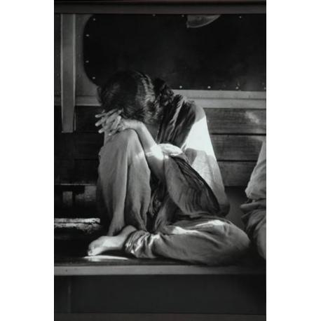 Denis Brihat - La voyageuse - Affiche 50x70 cm