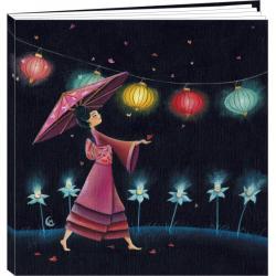 "Agenda 2015 Marie Cardouat ""L'ombrelle"" 16x16 cm"