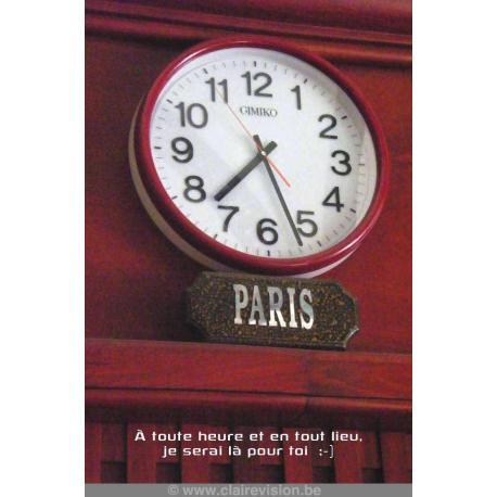 Carte Artistes Divers La collection souris à la vie - A toute heure et en tout lieu - 12x17 cm