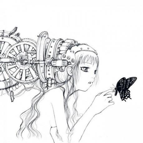 Carte Camilla d'Errico - The Water Wheel - 14x14 cm