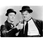Carte Laurel & Hardy au Far West - 10.5x15 cm