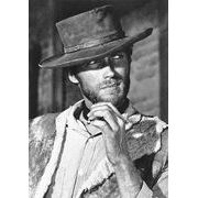 Carte Clint Eastwood - 10.5x15 cm