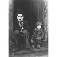 Carte Charlie Chaplin - The Kid - 10.5x15 cm