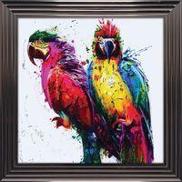 Tableau de Patrice Murciano - Tropical Colors - 84x84 cm