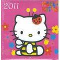 Calendrier Hello Kitty 2011 filmé