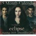 Calendrier Twilight saga