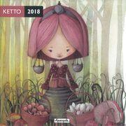 Calendrier 2018 Ketto - La cueillette - 30x30 cm