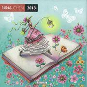 Calendrier 2018 Nina Chen - La lanterne - 30x30 cm