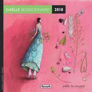 Calendrier 2018 Gaëlle Boissonnard - Jardin mural - 16x16 cm
