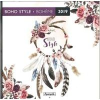 Calendrier 2019 Boho style - Bohème - 30x30 cm