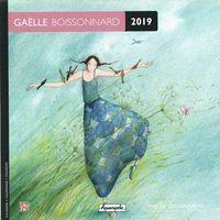 Calendrier 2019 Gaëlle Boissonnard - Dans le vent - 16x16 cm