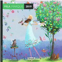 Calendrier 2019 Mila Marquis - Rendez-vous musical - 16x16 cm
