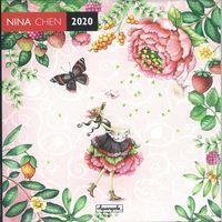 Calendrier 2020 Nina Chen - La cueillette - 30x30 cm