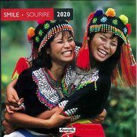 Calendrier 2020 Pays d'Asie - Sourires - 30x30 cm