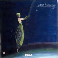 Calendrier 2020 Gaëlle Boissonnard - La cascade de pluie - 30x30 cm