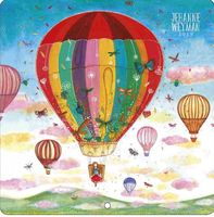 Calendrier Jehanne Weyman 2019 - Up in the air - 30x30 cm