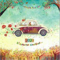 Calendrier Jehanne Weyman 2020 - L'aventure continue... - 30x30 cm