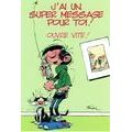 Carte Gaston Lagaffe