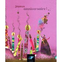 Carte Comme un rêve - Bougies d'anniversaire... - Carte anniversaire