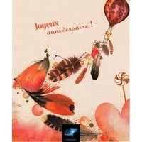 Carte Comme un rêve - Une pensée douce et légère... - Carte anniversaire