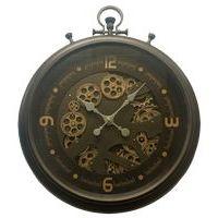 Horloge métal à engrenage - Diam 52 cm