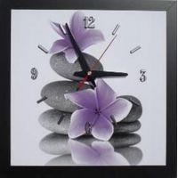 Horloge murale sur bois