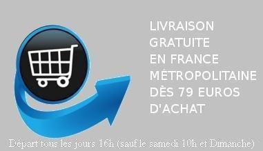Livraison gratuite dès 79 euros d'achats