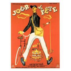 Carte Jour de Fête - Jacques Tati - 10.5x15 cm