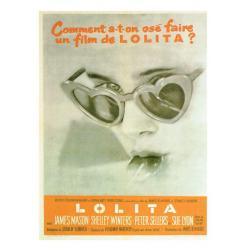 Carte Lolita - Stanley Kubrick 1962 - 10.5x15 cm