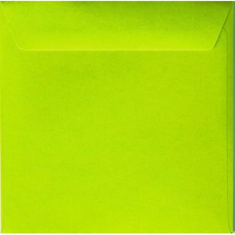 Enveloppe vert pomme 14.5 x 14.5 cm
